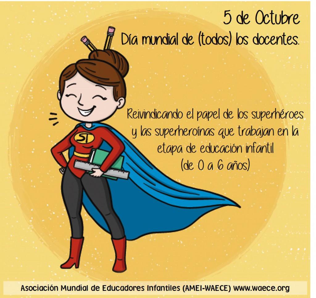 Dia mundial de los docentes 2018
